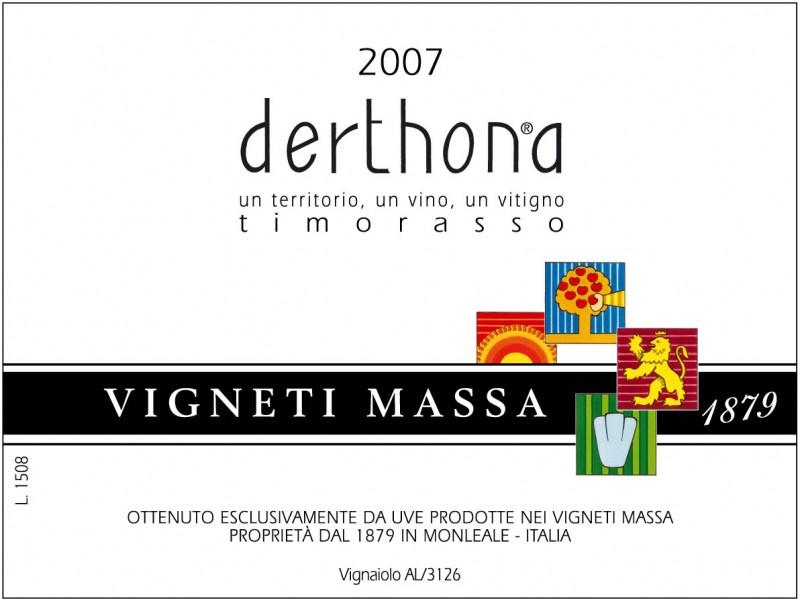 Vigneti Massa Timorasso 'Derthona'