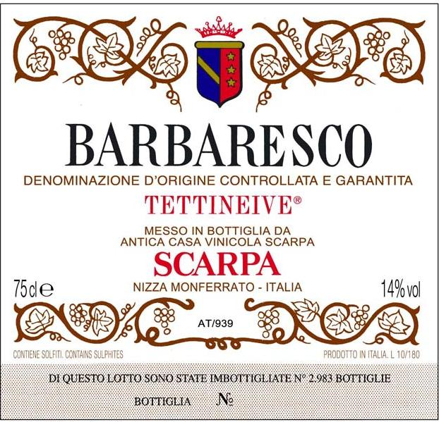 Scarpa Barbaresco 'Tettineive'