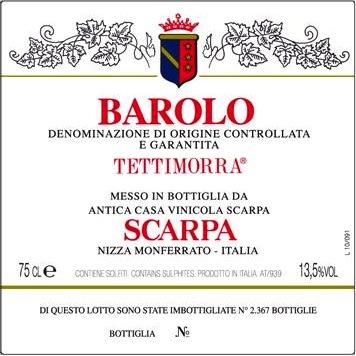 Scarpa Barolo 'Tettimorra'