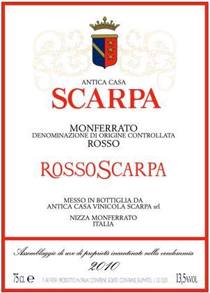 Scarpa Monferrato 'Rosso Scarpa'