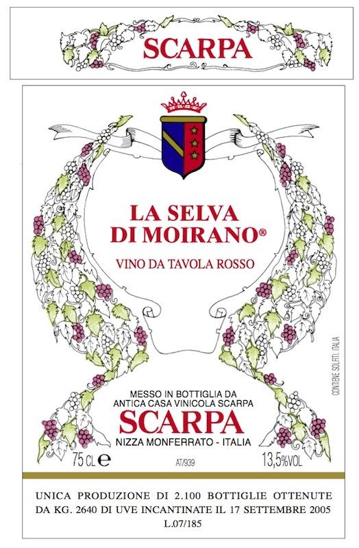 Scarpa Brachetto Secco 'La Selva di Moirano'