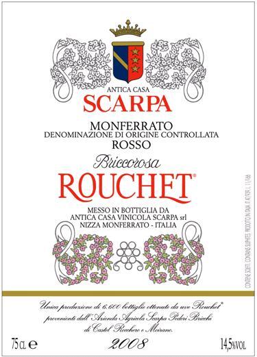 Scarpa Monferrato Rosso 'Rouchet Briccorosa'