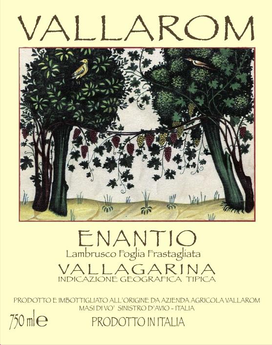 Vallarom Vallagarina Rosso Foglia Frastagliata