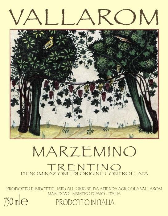 Vallarom Trentino Marzemino