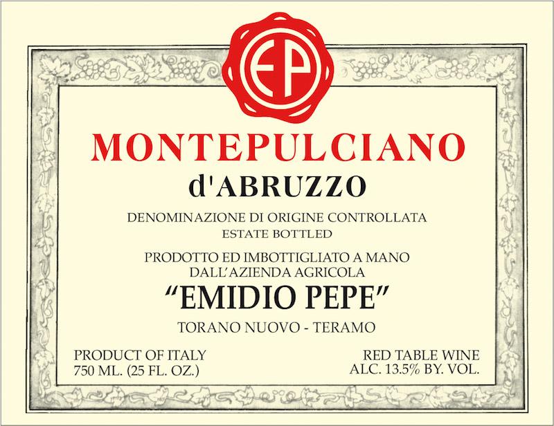 Emidio Pepe Montepulciano d'Abruzzo