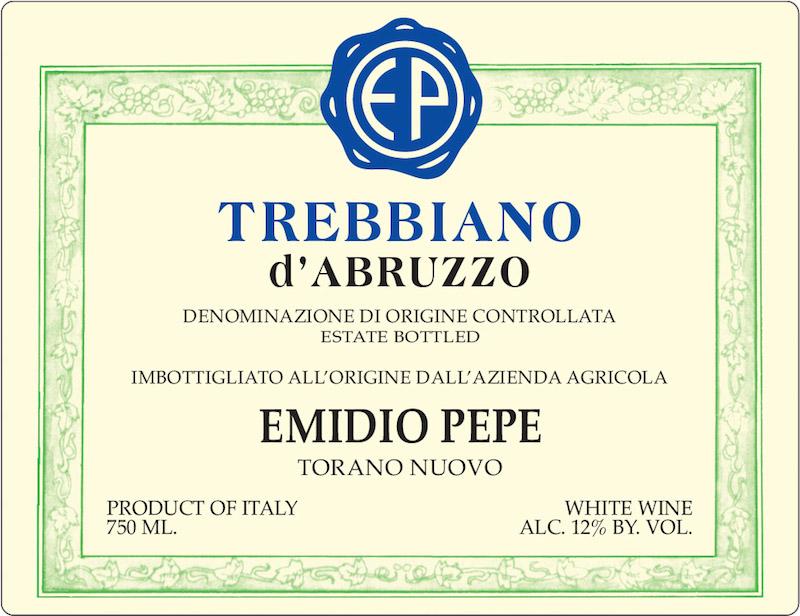 Emidio Pepe Trebbiano d'Abruzzo