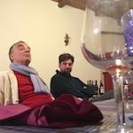 Domenico Silipo and Ernest Ifkovitz a tavola