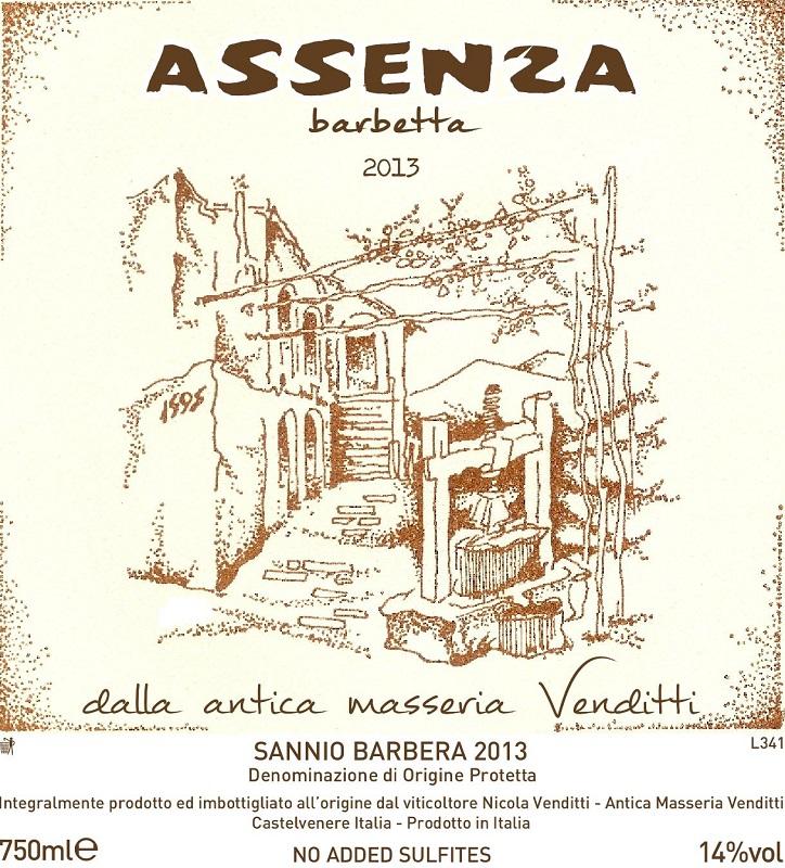 Antica Masseria Venditti Barbetta 'Assenza'