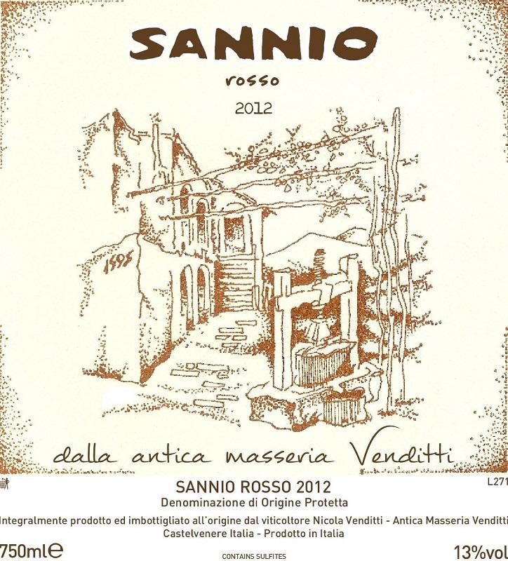 Antica Masseria Venditti Sannio Rosso