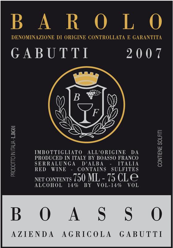 Gabutti Barolo 'Gabutti'