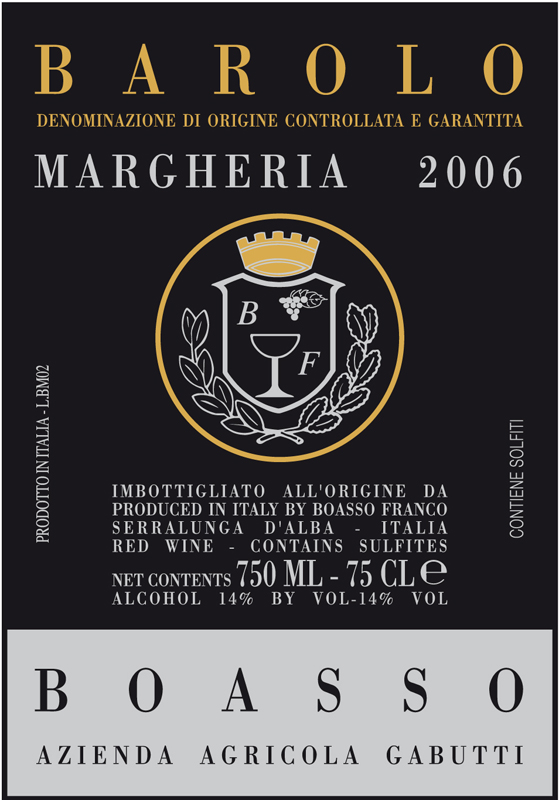 Gabutti Barolo 'Margheria'