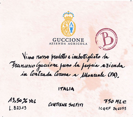 Guccione Sicilia 'B'