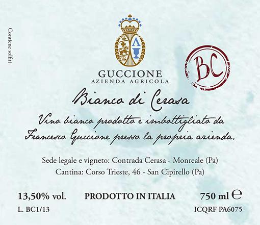 Guccione Sicilia 'BC'