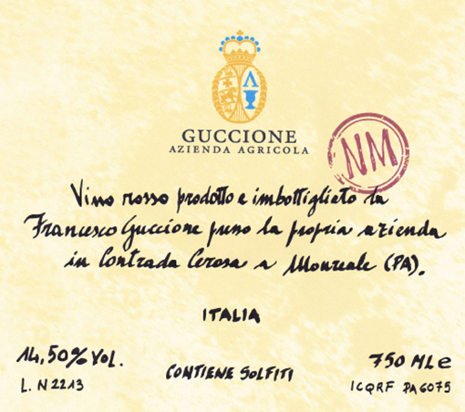 Guccione Sicilia 'NM'