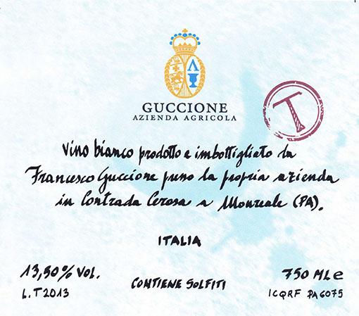 Guccione Sicilia 'T'