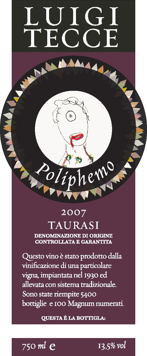Luigi Tecce Taurasi 'Poliphemo' 2011