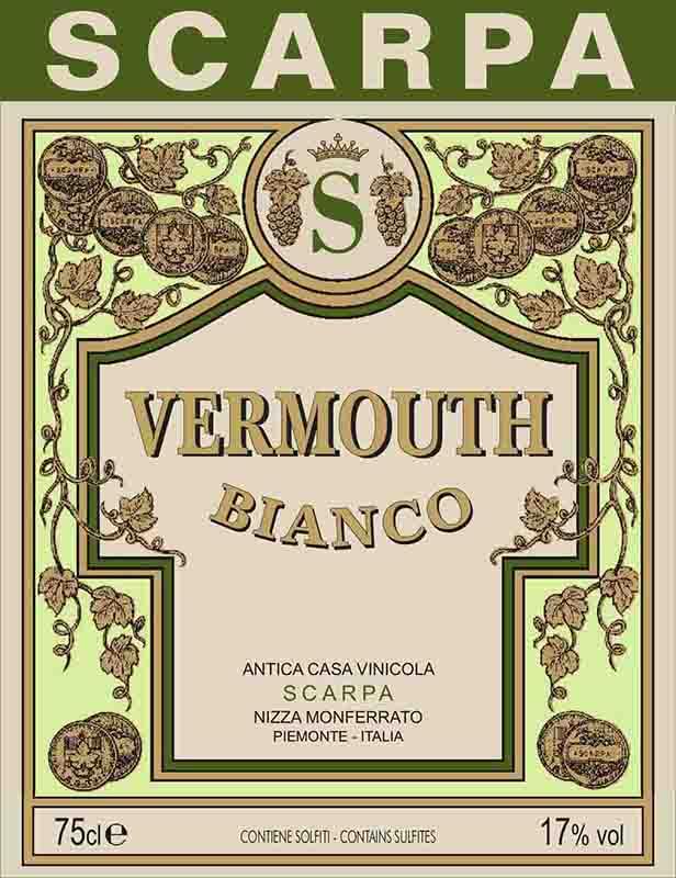 Scarpa Vermouth Bianco