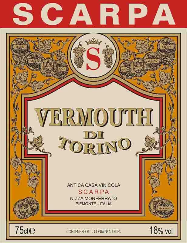 Scarpa Vermouth di Torino Rosso