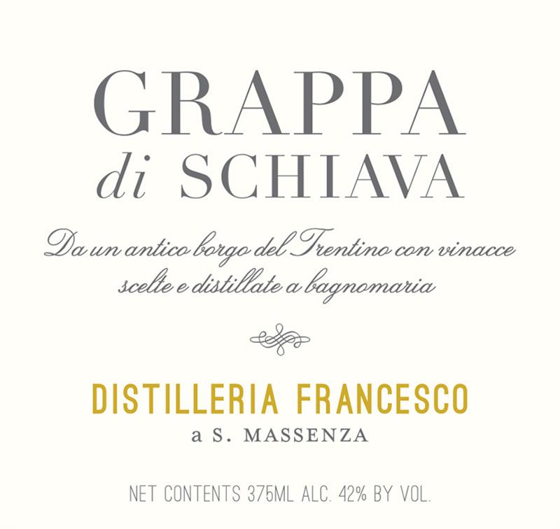 Distilleria Francesco Grappa di Schiava