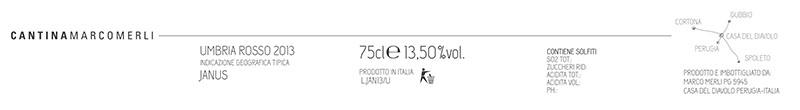 Marco Merli Rosso Umbria 'Janus'