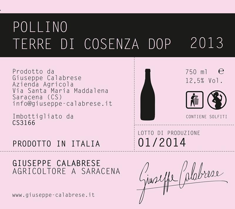 Giuseppe Calabrese Terre di Cosenza Pollino
