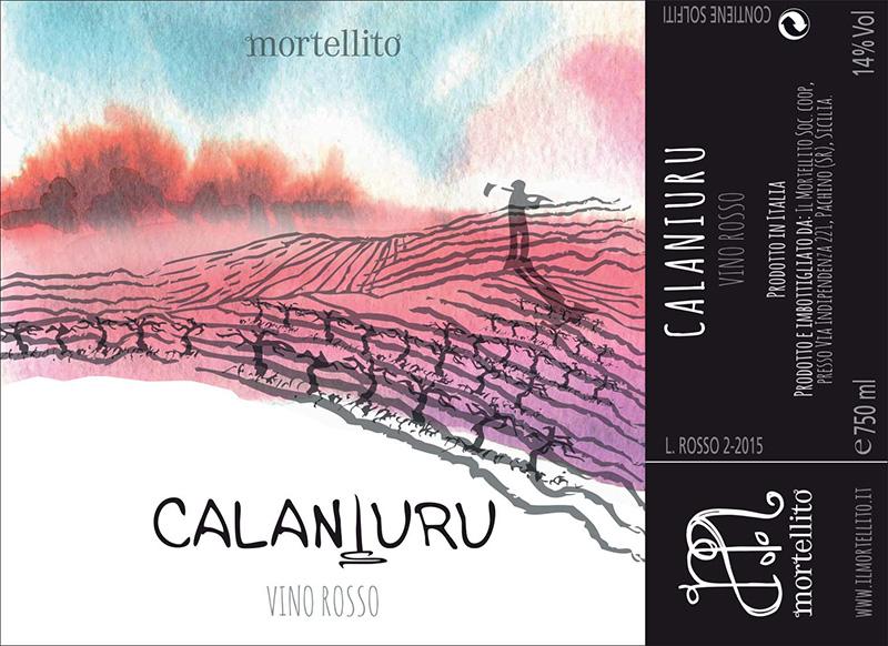 Mortellito Rosso Sicilia 'Calaniuru'