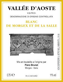 Piero Brunet Blanc de Morgex et de La Salle