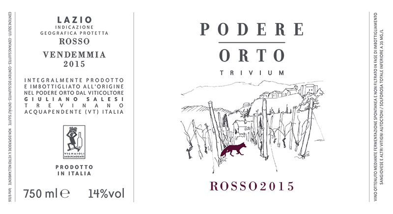 Podere Orto 'Trivium' Rosso Lazio