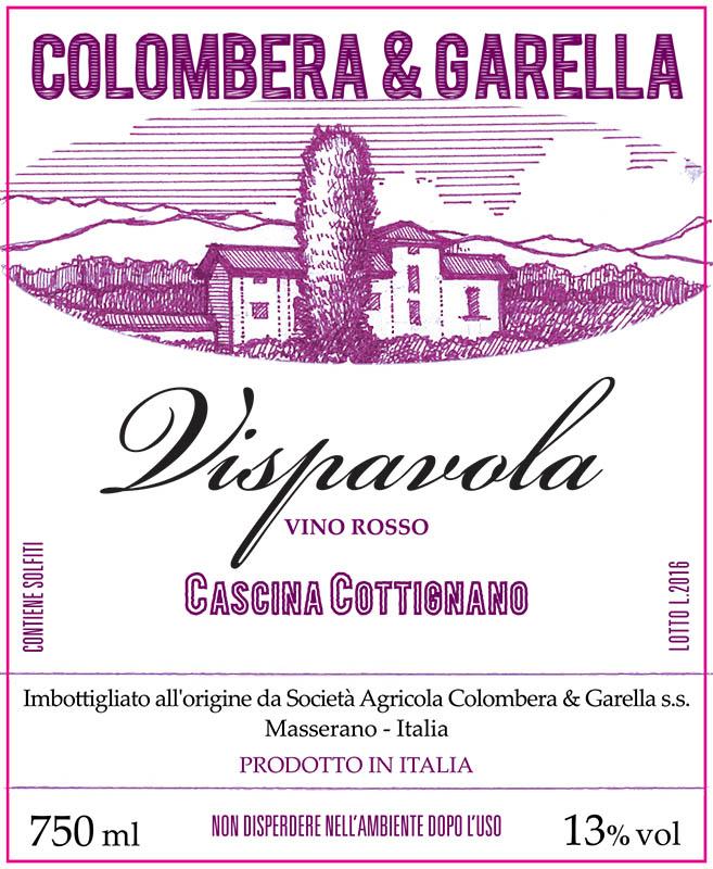 Colombera & Garella Vino Rosso 'Vispavola'
