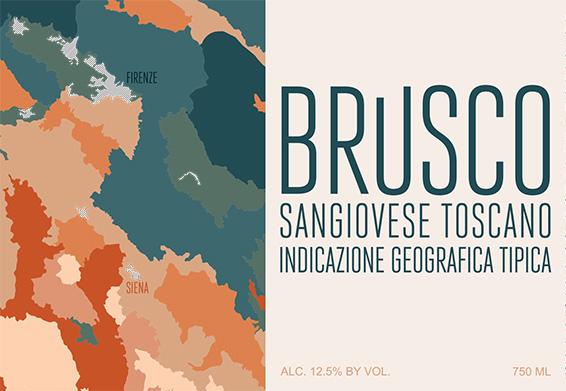 FUSO21 Brusco Sangiovese Toscana