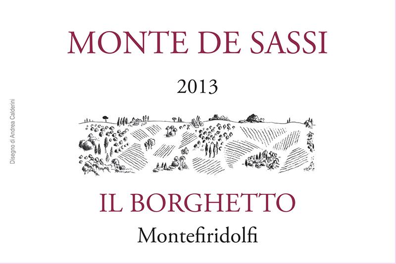 Il Borghetto Toscana Sangiovese 'Monte de Sassi'