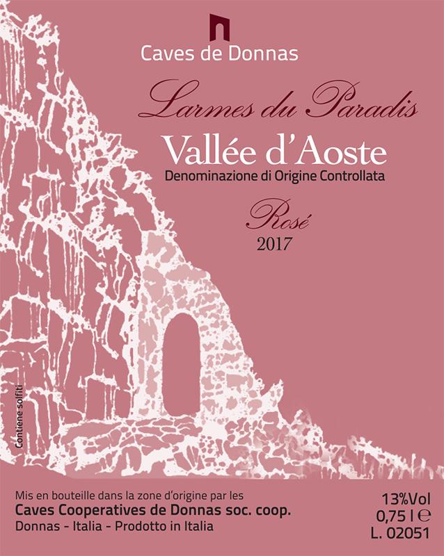 Donnas Valle d'Aosta Rosé 'Larmes du Paradis'