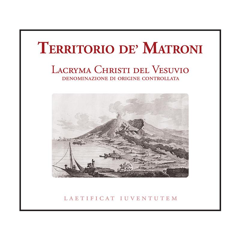 Cantine Matrone Lacryma Christi del Vesuvio Rosso 'Territorio de' Matroni'