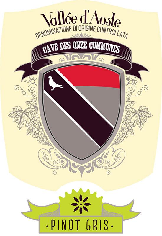 Cave des Onze Communes Vallée d'Aoste Pinot Gris