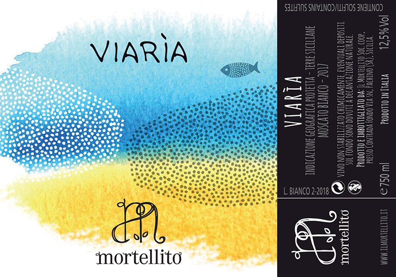 Mortellito Terre Siciliane Moscato Bianco 'Viarìa''