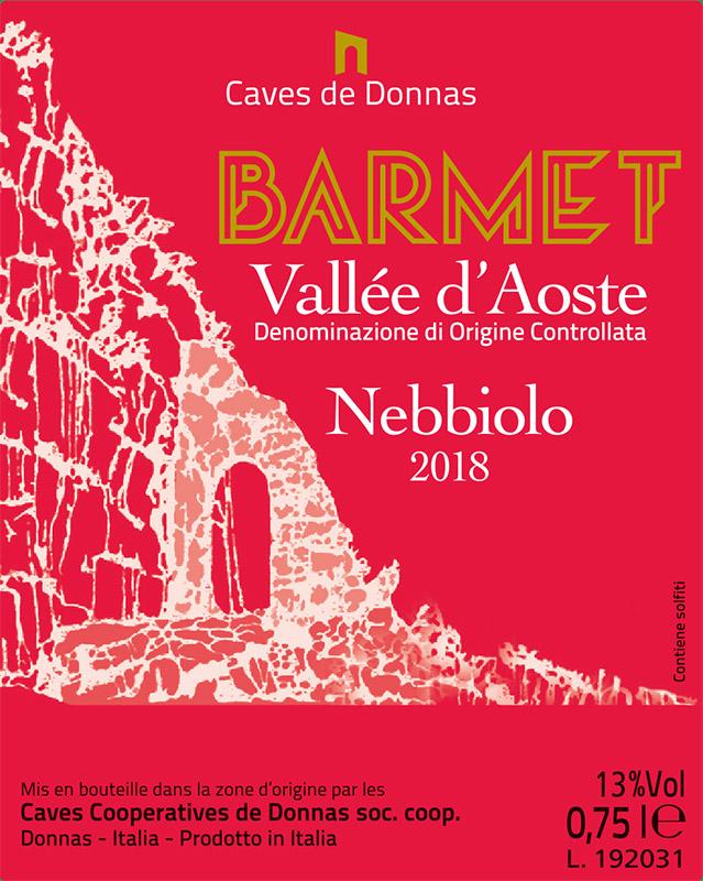 Donnas Valle d'Aosta Nebbiolo 'Barmet'