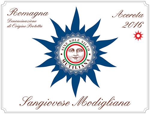 Mutiliana Romagna Sangiovese 'Acereta'