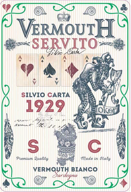 Silvio Carta Vermouth Bianco di Sardegna 'Servito'