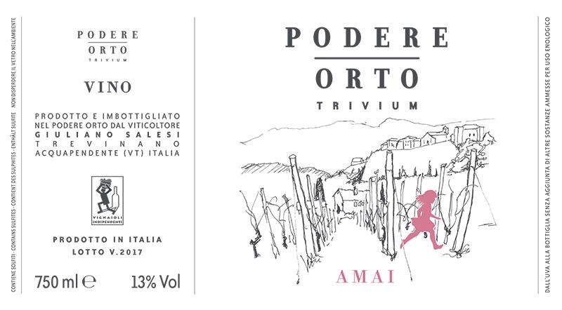 Podere Orto 'Trivium Amai' Lazio